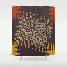 Ethnic Shower Curtain