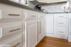 Kitchen Design & Project Management- Before and After - Bella Tucker Cabinet Paint Colors, Beautiful Inside And Out, Painting Kitchen Cabinets, Large Homes, Project Management, Kitchen Design, Projects, Room, Things To Sell