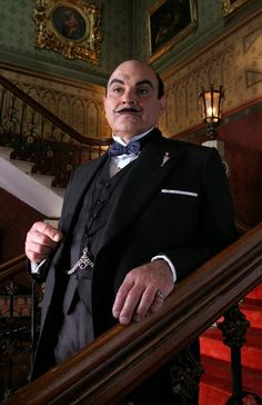 Poirot, love this series