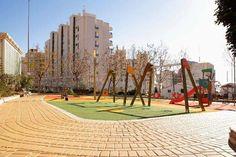 Новые детские площадки в Кальпе