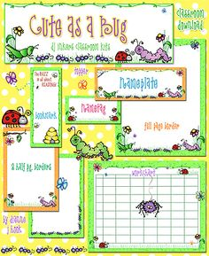 Save $1 when you buy 'Cute as a Bug' for your classroom today!  Sale ends February 18, 2015.