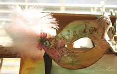 DIY Vintage Masquerade Mask DIY Halloween DIY Costumes