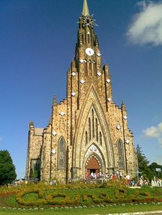 Cathedral of Our Lady of Lourdes, Brazil. 66-ft tall