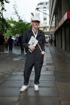 WHAT MEN WEAR — London Collections Men Street Style By Bart Pajak...