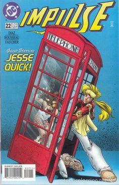 IMPULSE #22, DC COMICS, 1.997, USA