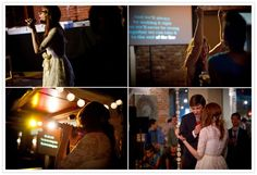 karaoke wedding reception?!?  Fantastic!!! Would make a fun rehearsal dinner.