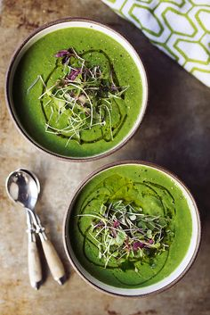 Fennel Spinach Soup | Tasty Yummies