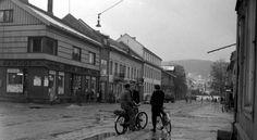 Akershus fylke Skedsmo kommune Lillestrøm Storgt 1953 Utg Mittet