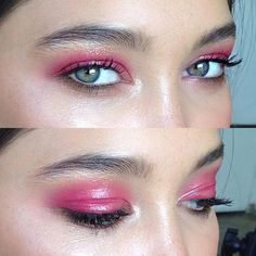 Pink gloss (throw back to starting out in 2014 // @edenbristowe )