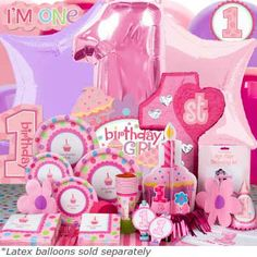 CUPCAKE THEME 1st Birthday Party For Girls Kids Themes Baby First