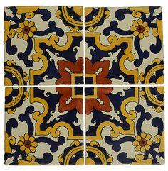 Handmade Moroccan tile