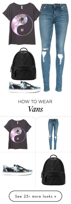 """#540"" by paula164 on Polyvore featuring Vans, women's clothing, women, female, woman, misses and juniors"