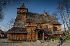 St. Michael Archangel's Church in Dębno #Poland