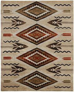 Pendleton - Pendleton South West Fathers Eyes SW-14 Area Rug #66167