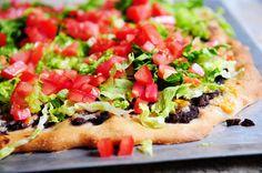 Pioneer Woman's Taco Pizza Yummo