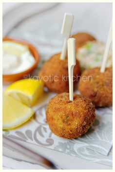 (appetizers/mediocre) Smoked Salmon Croquettes