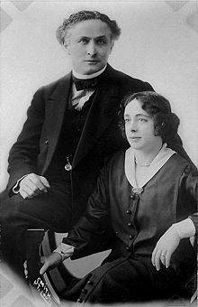 """As his fame as a """"ghostbuster"""" grew, Houdini took to attending séances in disguise, accompanied by a reporter and police officer. Possibly the most famous medium whom he debunked was Mina Crandon, also known as """"Margery"""".  Houdini chronicled his debunking exploits in his book, """"A Magician Among the Spirits."""""""