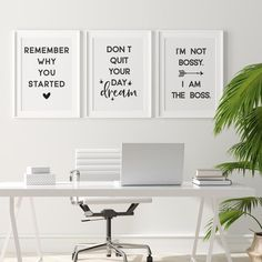 Womens Office Decor, Office Wall Decor, Office Walls, Gold Office, Office Art, Home Office Space, Home Office Design, Woman Cave, Office Makeover
