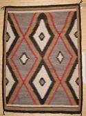 "Eye Dazzler Navajo Rug  44"" x 62""  Circa 1940  #C90"