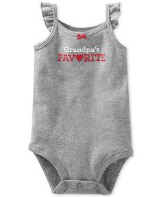 Carter's Baby Girls' Grandpa's Favorite Bodysuit - Kids Baby Girl (0-24 months) - Macy's