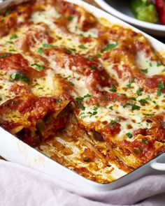 Cheesy Vegetarian Lasagna | Kitchn