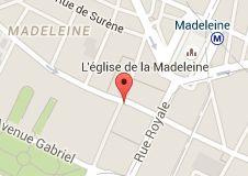 Map of Lanvin Paris