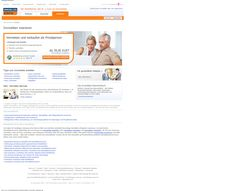 ImmobileinScout 24   - to  much information   - to many links   - Target for this page: visitor should register and then book
