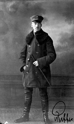 Franz Pfeffer von Salomon, the first Oberführer SA (Leader SA), shortly after the end of WW1 in 1918.