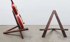 Hudson Valley Hard Goods Handcrafted Guitar Stands | Cool Material