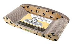 Ollieroo Curve Cat Scratching Pad, Basics Collection Lounge Kitty Couch, Cardboard Scratcher Sofa Bed, Protect Your Furniture Getting Damaged, Quality Pet Grooming Supplies ** Read more at the image link. Best Cat Scratching Post, Cat Climbing Shelves, Cardboard Cat Scratcher, Cat Tree Condo, Cat Accessories, Cat Furniture, Pet Grooming, Cool Cats, Sofa Bed