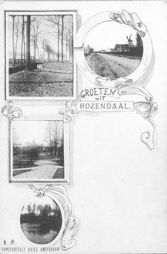Groeten uit Rozendaal, 1898, uitgever: kunstanstalt Herz.