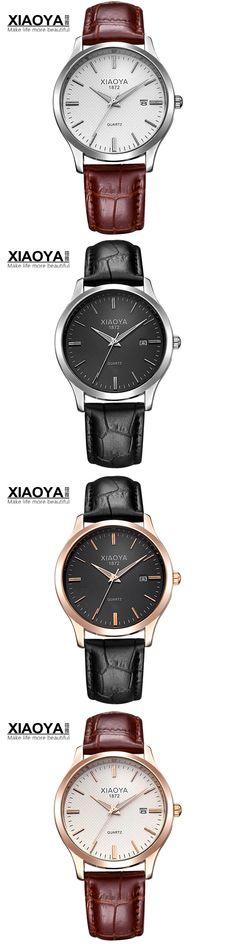 XIAOYA 2017 Fashion Quartz Watch Men Watches Top Brand Luxury Male Clock Business Mens Wrist Watch Hodinky Relogio Masculino