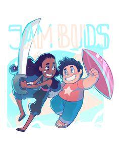 Jam Buds | Connie & Steven | Steven Universe | Cartoon Network