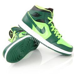 Air jordan 1 George/electric green