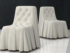Busnelli Bohemien chair modello 3D | Castello Lagravinese