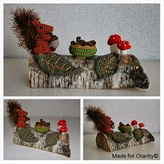 Herfst speelgoed Crochet Autumn Toy Chrochet, Knit Crochet, Charity, Seasons, Knitting, Halloween, Art, Amigurumi, Crochet