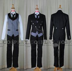 Black Butler: Sebastian's outfit