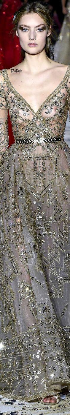 ❇Téa Tosh❇ Zuhair Murad, Spring 2018 Couture