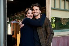 Lauren Graham and Jason Ritter #Parenthood