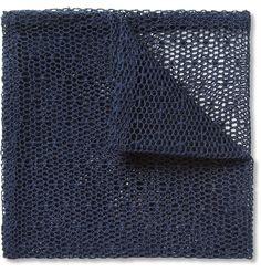 MarwoodMesh Lace Pocket Square|MR PORTER