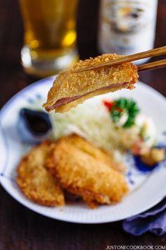 Ham Katsu ハムカツ | Easy Japanese Recipes at JustOneCookbook.com