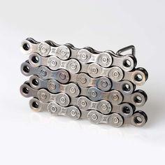 $30 Fab.com | Bike Chain Belt Buckle Metal