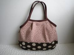Japanese fabric bag  Granny Bag Small  by 520HandmadeCreations, $24.00
