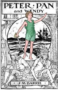 Peter Pan by J.M. Barrie - Best seller books all time - Childrens story.jpg