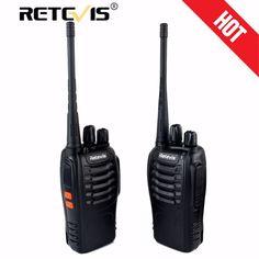 2 unids retevis h-777 walkie talkie de radio portátil uhf 16ch 400-470 mhz hf transceptor de radio de jamón handheld práctico comunicador de radio