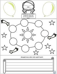 Ziua Copilului. Materiale și idei pentru 1 Iunie - lapbook Symbols, Letters, Education, Math, Math Resources, Letter, Lettering, Onderwijs, Learning