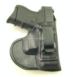RH Black MTR Custom Clip-0n IWB with a bodyshield for a Glock 26, 27, 33