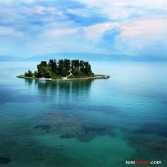 """This tiny island is found in Corfu and is called pontikonisi or """"Mouse Island"""" Beautiful Islands, Beautiful World, Wonderful Places, Beautiful Places, Ancient Ruins, Paradise Island, Photos Of The Week, Nature Wallpaper, Greece Travel"""