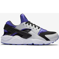 Nike Air Huarache Men's Shoe. Nike.com ($110) ❤ liked on Polyvore featuring men's fashion, men's shoes, mens shoes and nike mens shoes