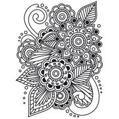 "Embossing Folder 4.25""X5.75"" - Henna"